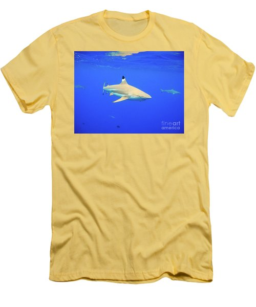 Blacktip Reef Shark Men's T-Shirt (Athletic Fit)