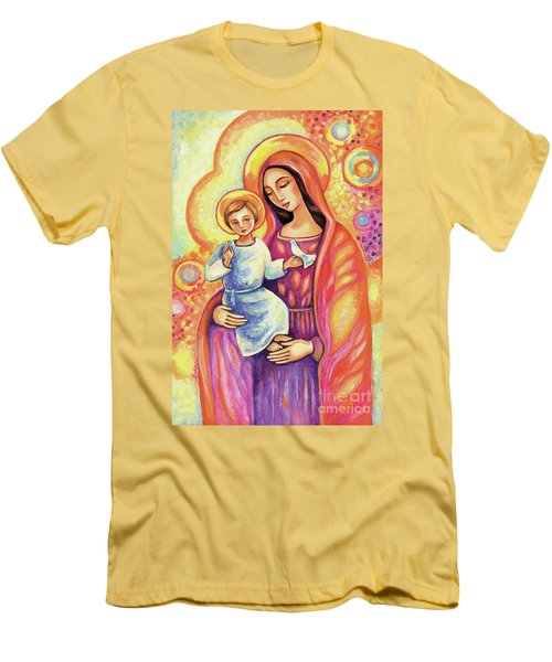 Blessing Of The Light Men's T-Shirt (Athletic Fit)
