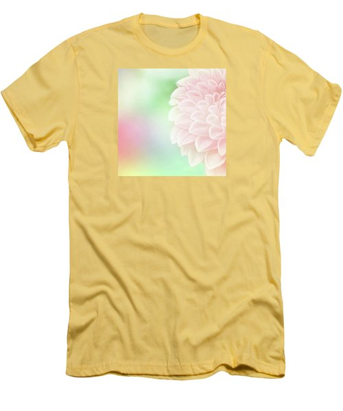 Men's T-Shirt (Slim Fit) featuring the photograph Bloom by Robin Dickinson