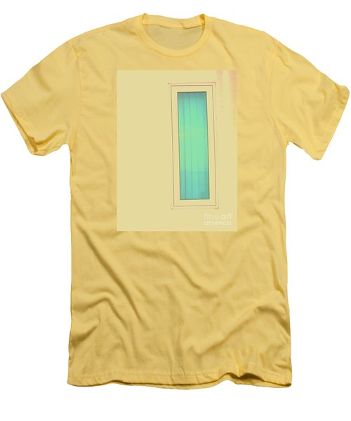 Men's T-Shirt (Slim Fit) featuring the photograph Blue  by Vanessa Palomino