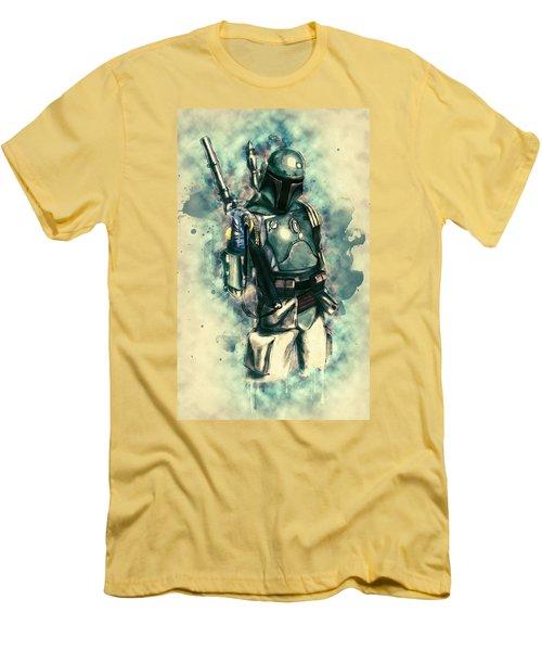 Boba Fett Men's T-Shirt (Slim Fit) by Taylan Apukovska