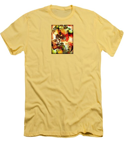 Men's T-Shirt (Slim Fit) featuring the photograph Bokeh Blossoms by Robin Regan
