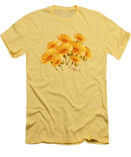 Bouquet Of Daisies Men's T-Shirt (Athletic Fit)