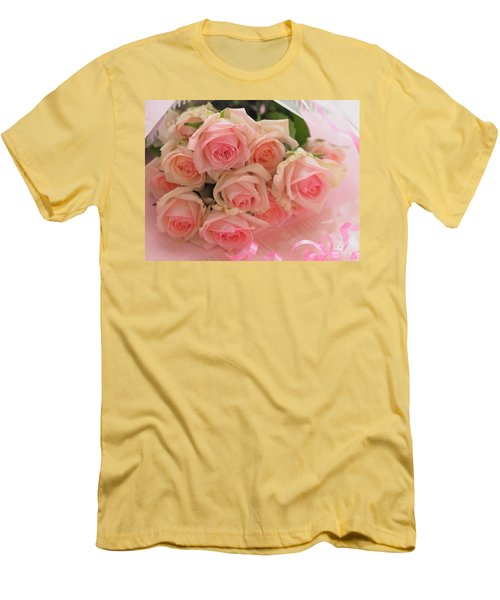 Bouquet Of Sweetness Men's T-Shirt (Athletic Fit)