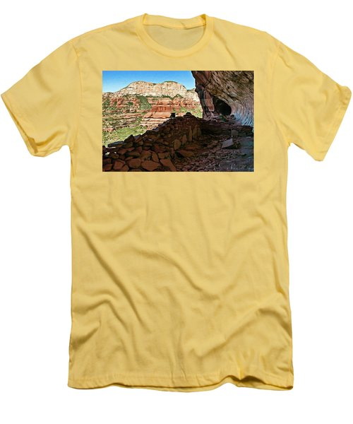 Boynton Canyon 05-1019 Men's T-Shirt (Slim Fit) by Scott McAllister