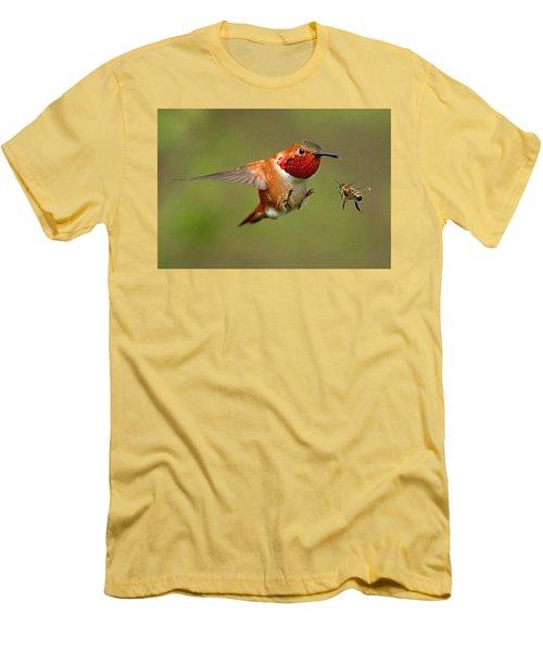 Brakes Men's T-Shirt (Slim Fit) by Sheldon Bilsker
