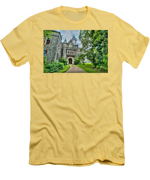 Men's T-Shirt (Athletic Fit) featuring the photograph Braunfels Castle by David Morefield
