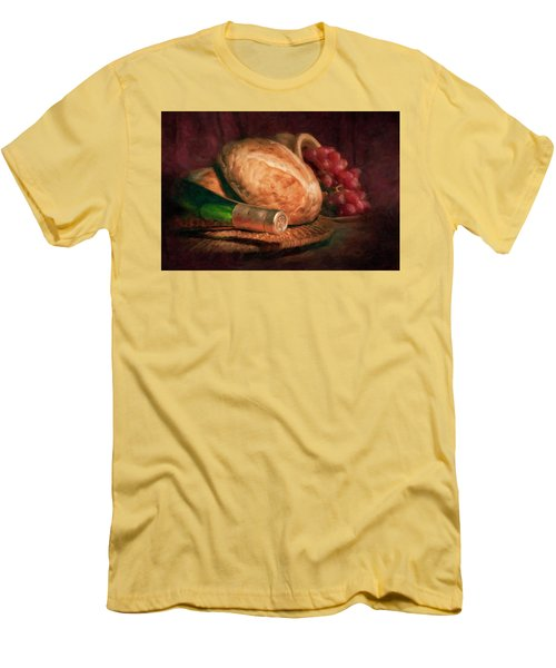Bread And Wine Men's T-Shirt (Athletic Fit)