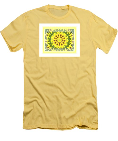 Brown Eyed Susan X2 Men's T-Shirt (Athletic Fit)