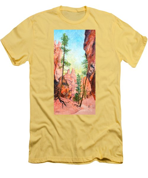 Bryce Canyon #2 Men's T-Shirt (Slim Fit) by Betty M M Wong