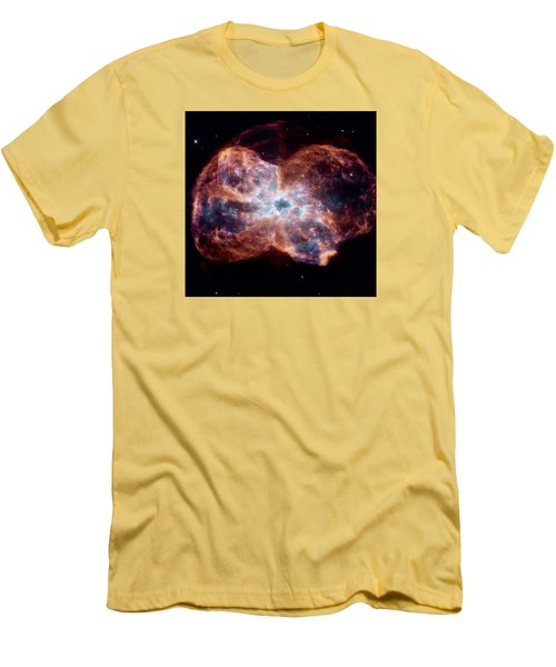 Bubble Nebula Men's T-Shirt (Athletic Fit)