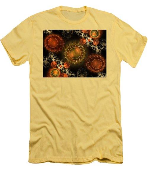 Bubbles Men's T-Shirt (Slim Fit) by Ester Rogers