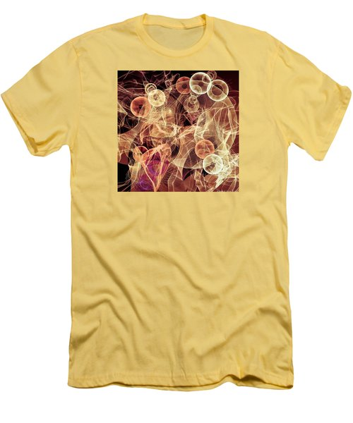 Bubbles On The Run Men's T-Shirt (Athletic Fit)