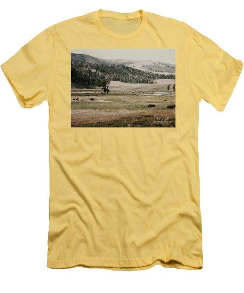 Buffalo Roam Men's T-Shirt (Athletic Fit)