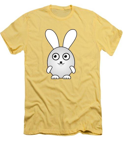 Bunny - Animals - Art For Kids Men's T-Shirt (Slim Fit) by Anastasiya Malakhova