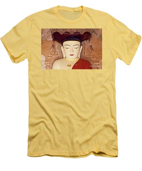 Men's T-Shirt (Slim Fit) featuring the photograph Burma_d2085 by Craig Lovell