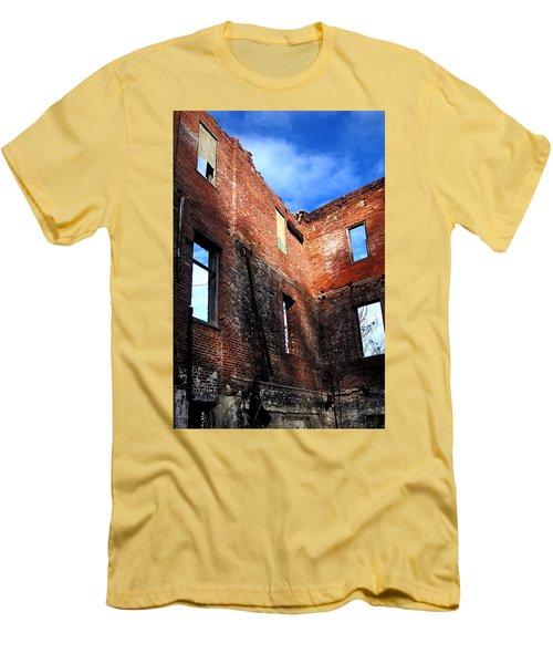 Burn Victim Men's T-Shirt (Athletic Fit)