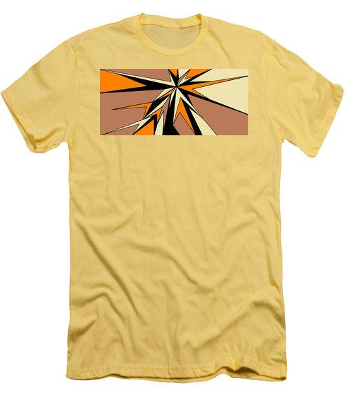 Burst Of Orange 2 Men's T-Shirt (Athletic Fit)