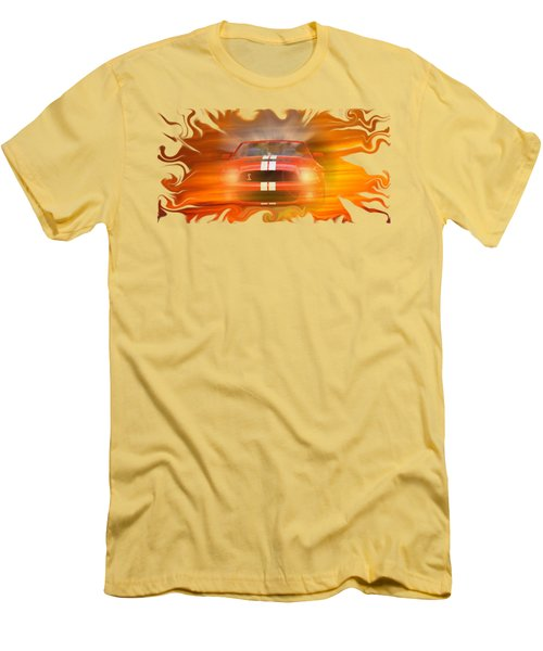Bustin Thru Men's T-Shirt (Slim Fit) by David and Lynn Keller