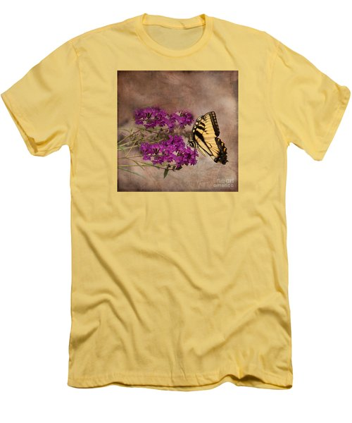 Butterfly , Eastern Tiger Swallowtail Men's T-Shirt (Athletic Fit)