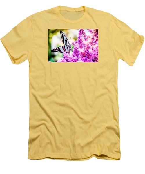 Butterfly Beautiful  Men's T-Shirt (Athletic Fit)