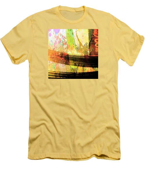 C D Art Men's T-Shirt (Slim Fit) by Bob Pardue