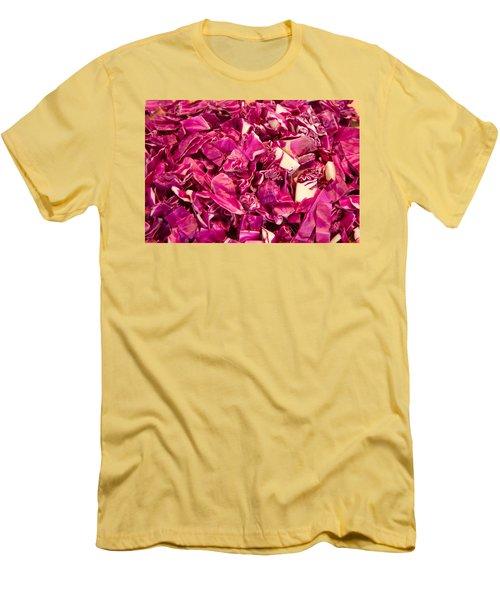 Cabbage 639 Men's T-Shirt (Slim Fit) by Michael Fryd