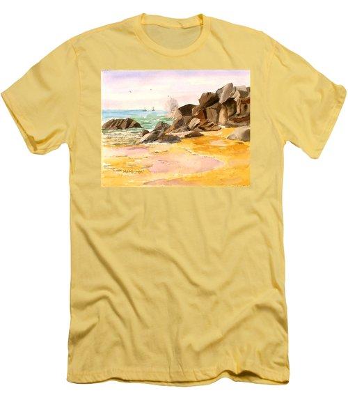 Cabo San Lucas Men's T-Shirt (Slim Fit) by Larry Hamilton