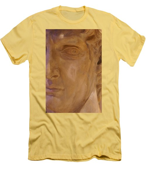 Men's T-Shirt (Slim Fit) featuring the photograph Caesar by Cynthia Powell