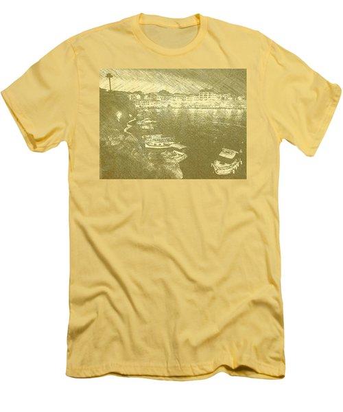 Cala Fonts At Night Men's T-Shirt (Athletic Fit)