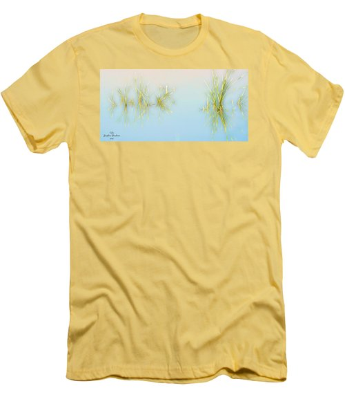 Calm Men's T-Shirt (Slim Fit) by Josephine Buschman