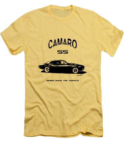 Camaro Ss V.2 Men's T-Shirt (Athletic Fit)
