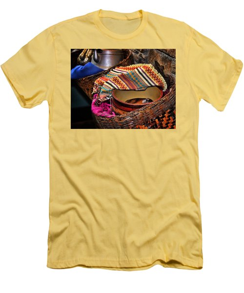 Men's T-Shirt (Slim Fit) featuring the photograph Camelback 8849 by Sylvia Thornton