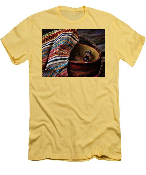 Camelback 8851 Men's T-Shirt (Slim Fit) by Sylvia Thornton