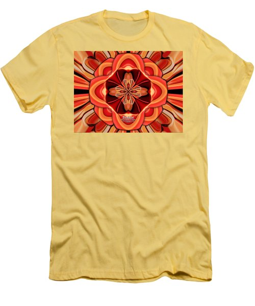 Candle Inspired #1173-4 Men's T-Shirt (Athletic Fit)