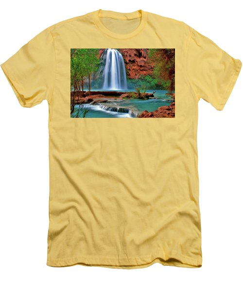 Canyon Falls Men's T-Shirt (Athletic Fit)