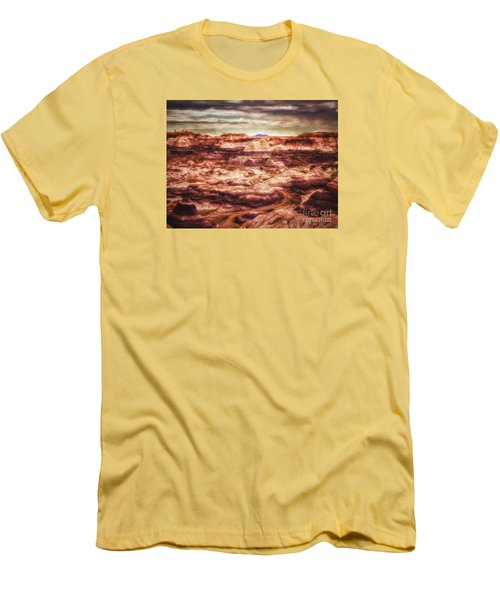 Canyon In The Painted Desert  ... Men's T-Shirt (Slim Fit) by Chuck Caramella