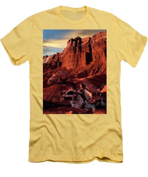 Capitol Reef National Park Men's T-Shirt (Slim Fit) by Utah Images