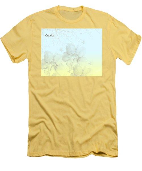 Caprice Men's T-Shirt (Slim Fit) by Trilby Cole
