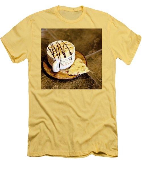 Caramel Macchiato Men's T-Shirt (Slim Fit)