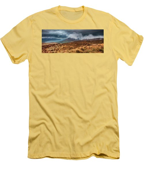 Carlingford Lough Men's T-Shirt (Slim Fit) by Marty Garland
