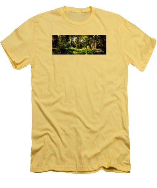Carolina Forest Men's T-Shirt (Slim Fit) by David Smith