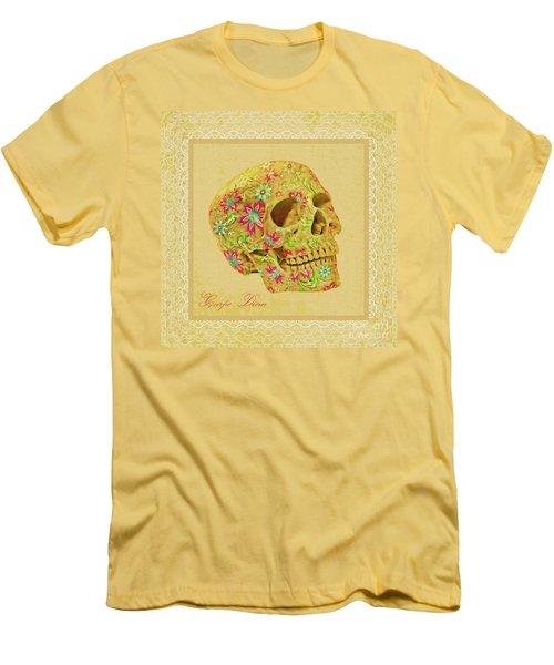 Carpe Diem Men's T-Shirt (Slim Fit) by Olga Hamilton
