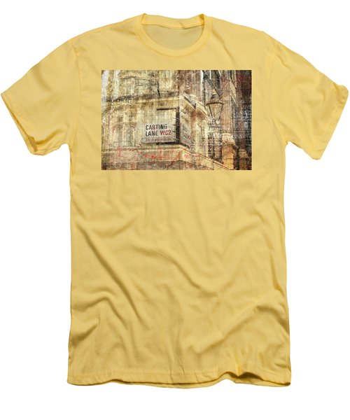 Carting Lane, Savoy Place Men's T-Shirt (Slim Fit) by Nicky Jameson