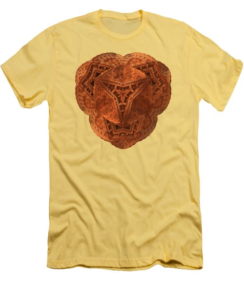 Men's T-Shirt (Slim Fit) featuring the digital art Carved by Lyle Hatch