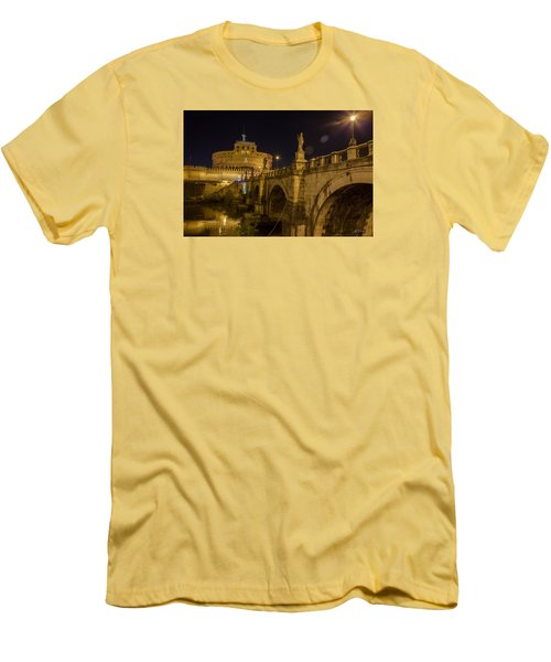 Castel Sant'angelo Men's T-Shirt (Slim Fit) by Ed Cilley