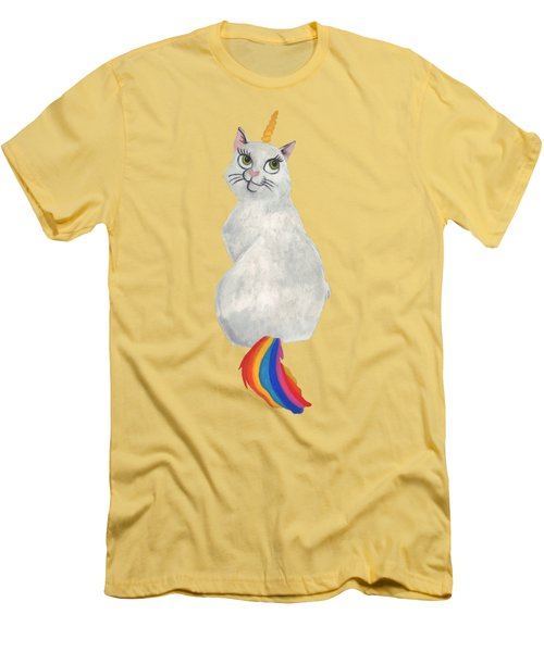 Caticorn Men's T-Shirt (Athletic Fit)