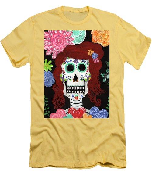 Catrina's Garden Men's T-Shirt (Athletic Fit)