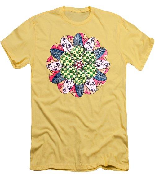 Caves Men's T-Shirt (Slim Fit) by Lori Kingston