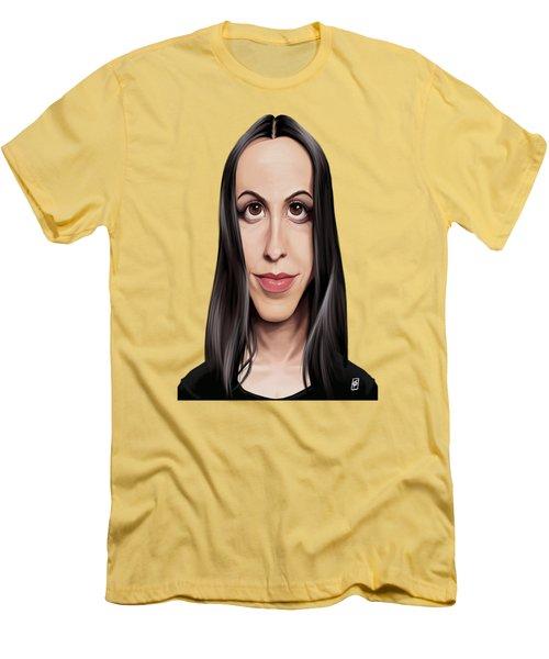 Celebrity Sunday - Alanis Morissette Men's T-Shirt (Athletic Fit)